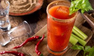 Caesar cocktail, Spicy Caesar, Caesar with celery