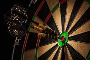 darts, dartboard