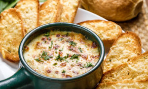Onion Soup, Fresh Soup, Garlic Bread